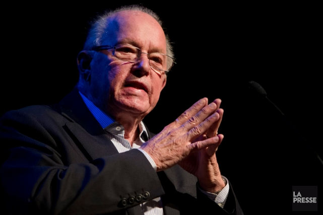 L'ancien premier ministre Bernard Landry.... (Photo Robert Skinner, archives La Presse)