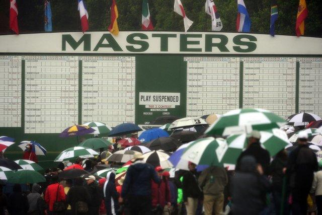 Le golf est affaire de nombres et c'est particulièrement vrai à Augusta, où... (Photo AP)