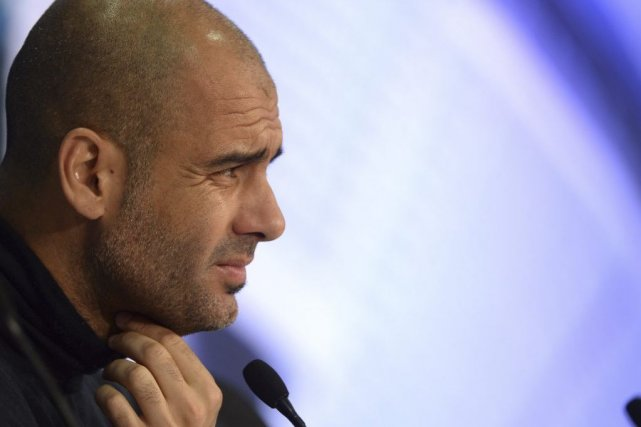Pep Guardiola... (Photo archives Agence France-Presse)