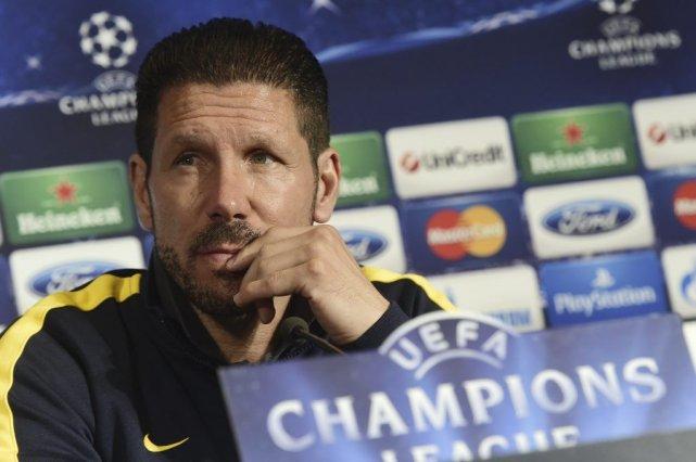 Diego Simeone... (Photo AFP)