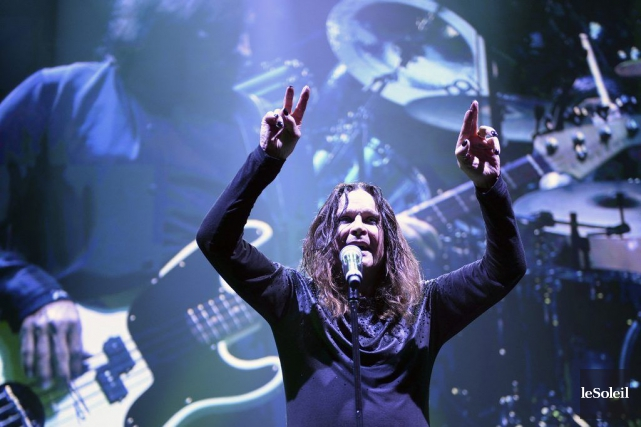 Black Sabbath en spectacle au Colisée de Québec.... (Photo: Érick Labbé, archives Le Soleil)