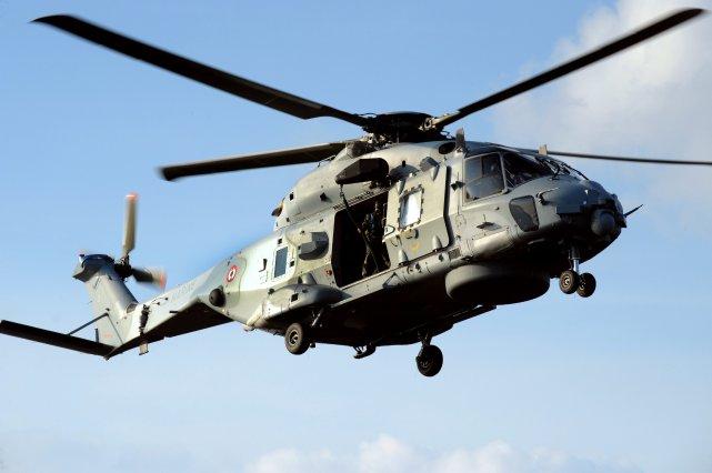 Un hélicoptère d'Airbus... (Photo FRED TANNEAU, AFP)