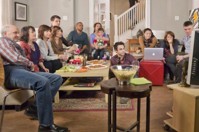 Dernière image de la famille élargie de Destinées... (Photo: La Presse Canadienne)