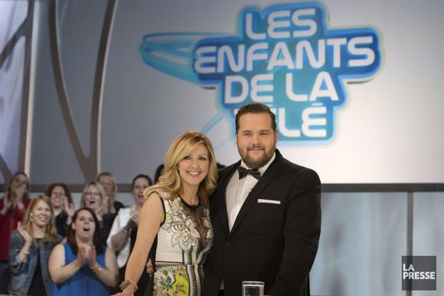 Véronique Cloutier et Antoine Bertrand à leur dernière... (Photo: Robert Skinner, La Presse)