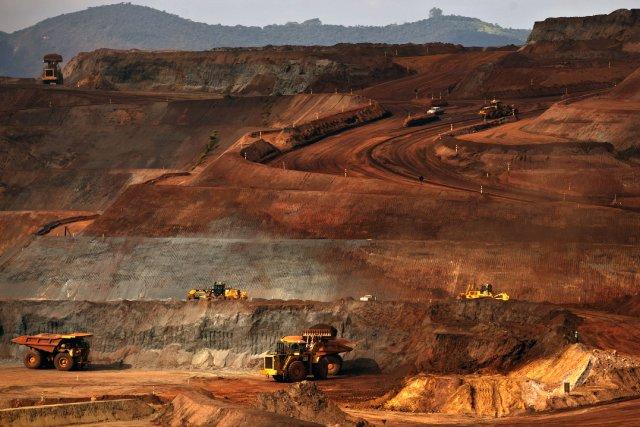 Une mine appartenant au conglomérat minier brésilien Vale... (Photo Dado Galdieri, Bloomberg)