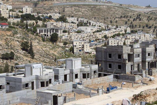 Vue d'un site de nouvelles constructions dans la... (Photo Ahmad Gharabli, AFP)