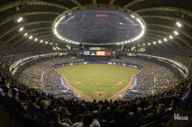 Le toit du Stade olympique ne sera pas... (Photo: Bernard Brault, La Presse)
