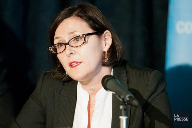 Diane Francoeur,qui a occupé le poste de vice-présidente... (Photo Ninon Pednault, Archives La Presse)