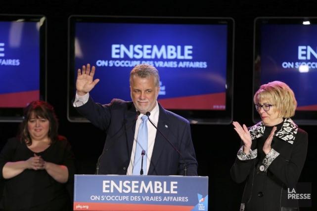 «L'élection d'un gouvernement majoritaire est un signal positif... (Photo André Pichette, La Presse)