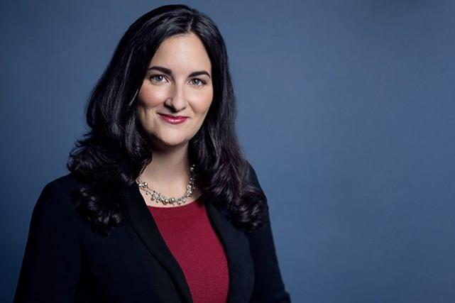 Marie Montpetit, 34 ans, présidente de la Commission... (Photo officielle tirée du site du Parti libéral)