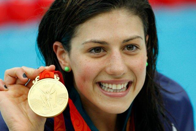 La nageuse australienne Stephanie Rice a remporté trois... (Photo Jerry Lampen, Reuters)