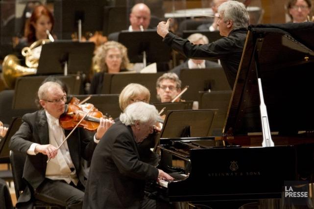 Peter Oundjian, chef du Toronto Symphony depuis 10... (Photo: Olivier Jean, La Presse)