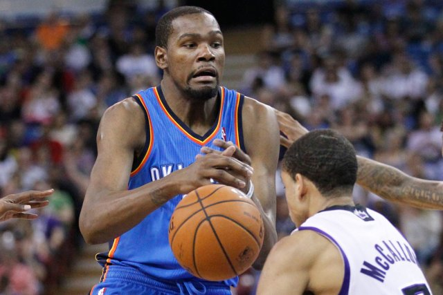 Kevin Durant... (Photo Cary Edmondson, USA Today)