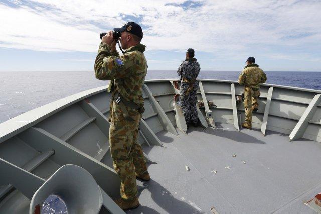 L'Australie, chargée de la coordination des recherches, a... (PHOTO ABIS NICOLAS GONZALEZ, AFP/DÉFENSE AUSTRALIENNE)