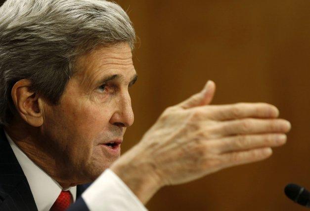 Le secrétaire d'État américainJohn Kerry... (Photo Larry Downing, Reuters)
