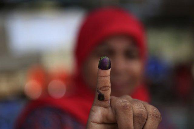 Les quelque 186 millions d'électeurs indonésiens étaient appelés... (Photo: Reuters)