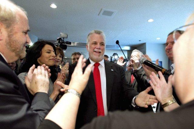 Les 125 candidats du Parti libéral du Québec... (Photo La Presse Canadienne)