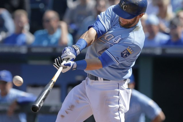 Alex Gordon des Royals de Kansas City... (Photo Orlin Wagner, AP)