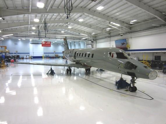 Le projet Learjet 85 a été lancé en... (Photo fournie par Bombardier)
