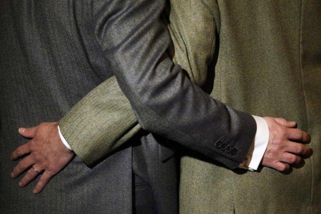 Un tribunal italien a validé mercredi un mariage homosexuel célébré à... (Archives Reuters)