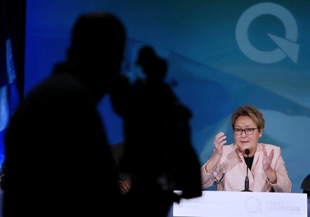 Le rejet de l'indépendance exprimé par la débandade... (Photo Christinne Muschi, Reuters)