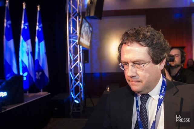 Bernard Drainville, l'instigateur de la Charte de la... (Photo Olivier PontBriand, archives La Presse)
