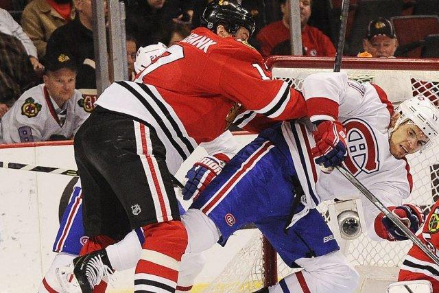 Relisez le clavardage du match entre le Canadien et les Blackhawks de Chicago... (Photo: Reuters)