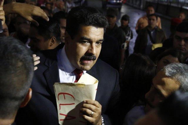 Nicolas Maduro a affirmé que ce «dialogue de... (Photo: Reuters)