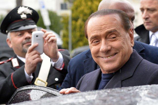 Silvio Berlusconi... (Photo: AFP)