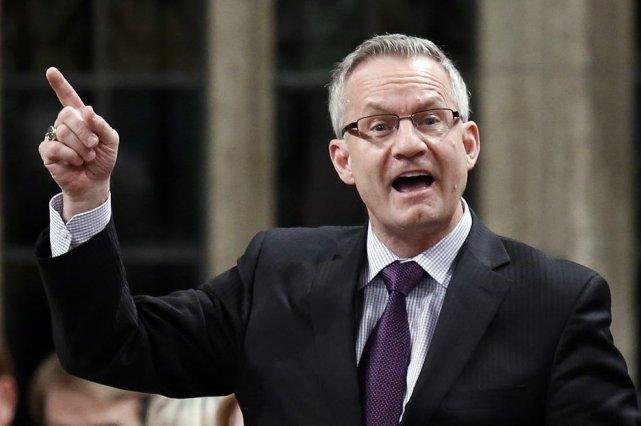 Toute l'affaire a commencé lorsque la députée néo-démocrate... (Photo La Presse Canadienne)