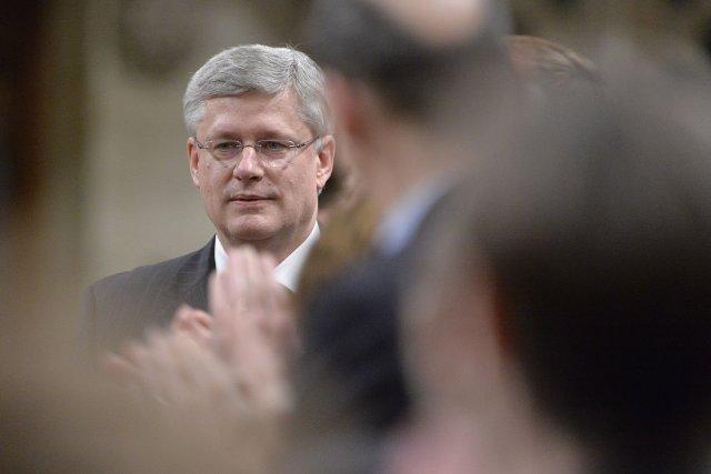 Le premier minsitre du Canada, Stephen Harper... (Photo Adrian Wyld, PC)
