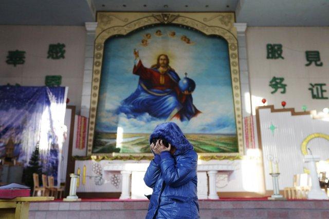 Les pratiques religieuses demeurent en Chine étroitement encadrées... (PHOTO JASON LEE, ARCHIVES REUTERS)