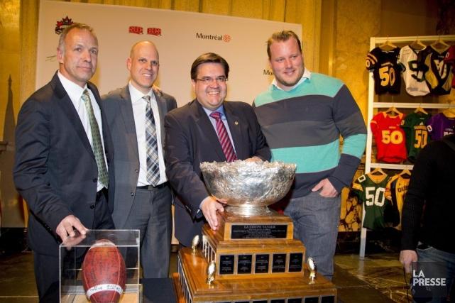 Pierre Lafontaine (directeur général de Sport interuniversitaire canadien... (Photo Alain Roberge, La Presse)