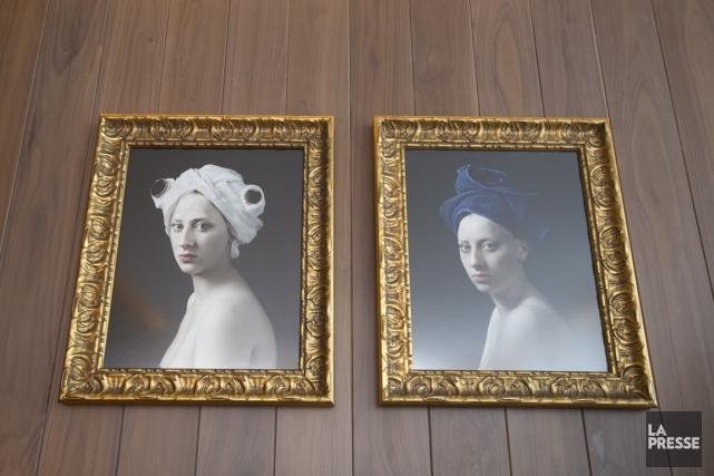 Les murs de l'hôtel Edition sont couverts de... (PHOTO FRANçOIS ROY, LA PRESSE)