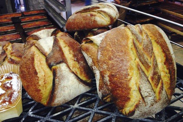 La miche au blé de Khorasan de L'Amour... (Photo fournie par L'Amour du pain)