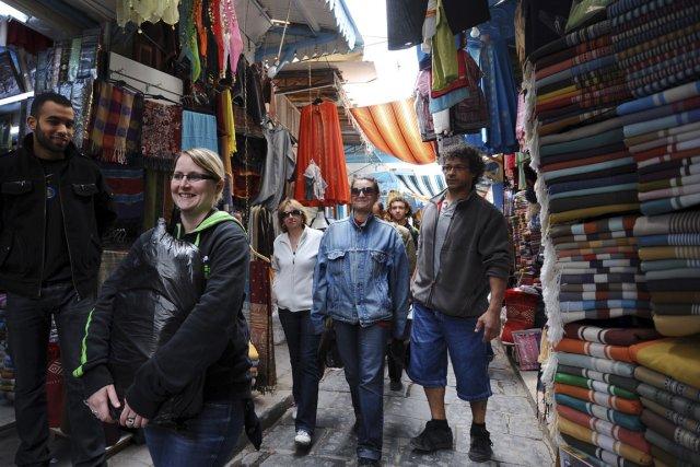 La Tunisie pourrait devenir une destination plus populaire auprès des... (Photo FETHI BELAID, AFP)
