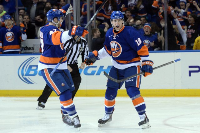 Le jeune centre Ryan Strome.... (Photo archives AP)