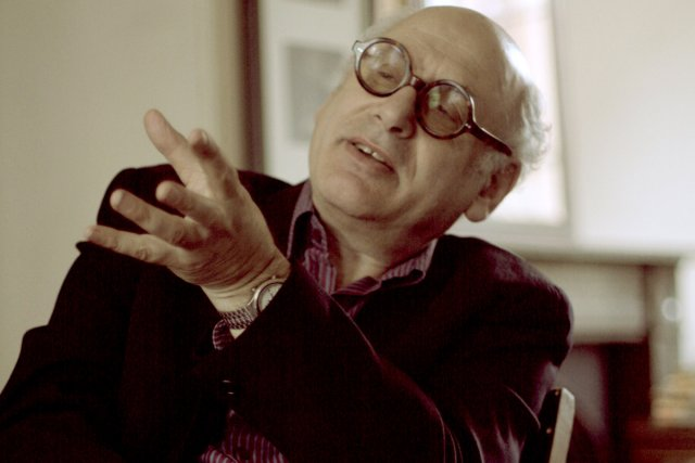 Le compositeur britannique Michael Nyman... (Photo: archives Bloomberg)