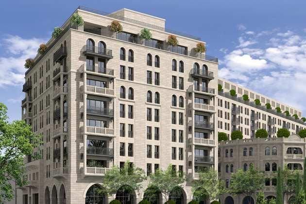 Situé à proximité des murailles de la Vielle... (Photo tirée du site web du Waldorf Astoria Jerusalem)