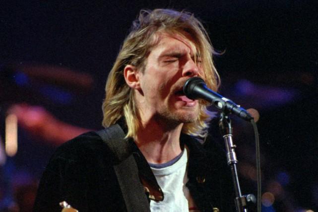 Kurt Cobain entrera dans le Temple de la... (Photo: archives AP)