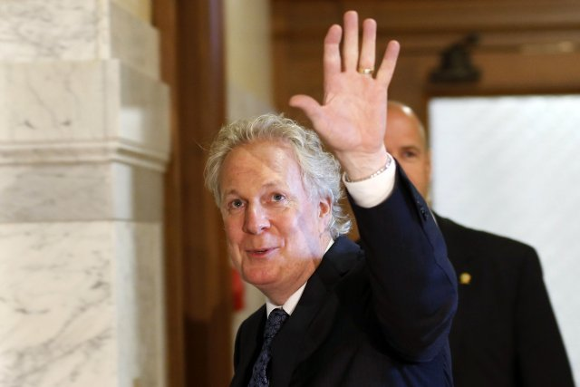 Jean Charest se rappelle de celui qu'il appelle... (Photo MATHIEU BELANGER, Reuters)