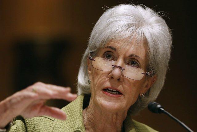 La secrétaire américaine à la Santé Kathleen Sebelius... (Photo LARRY DOWNING, Reuters)