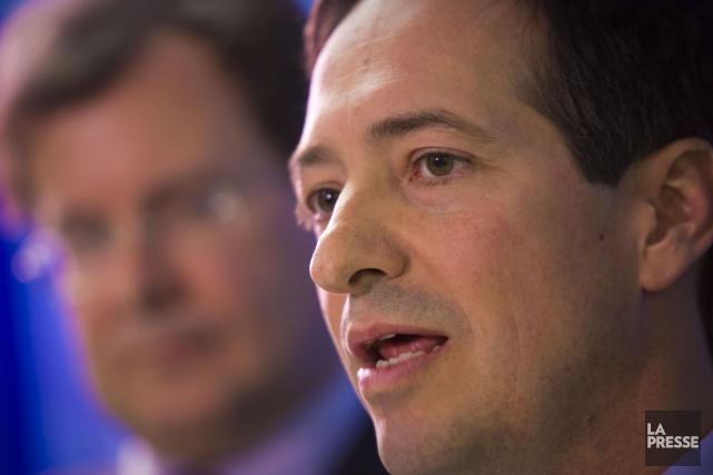 Le chef parlementaire par intérim du Parti québécois,Stéphane... (Photo Andre Pichette, archives La Presse)
