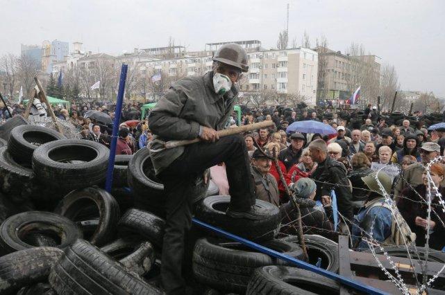 L'Ukraine était confrontée vendredi à la menace d'une coupure des livraisons... (Photo AP)