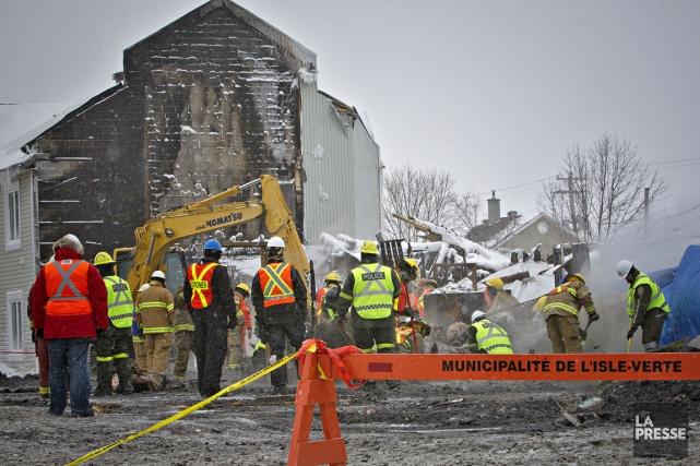 L'incendie de la résidence du Havre, le 23... (Photo Patrick Sanfaçon, archives La Presse)