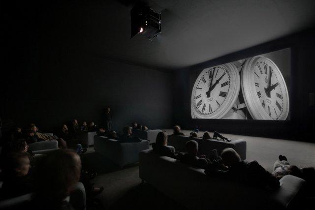 The Clock, de Christian Markley, est un montage... (Photo fournie par le Musée des Beaux-Arts du Canada)
