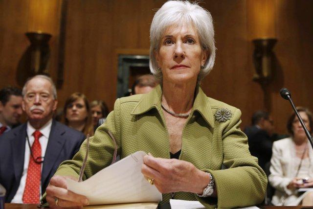 MmeSebelius, qui occupait ce poste depuis cinq ans,... (PHOTO LARRY DOWNING, REUTERS)
