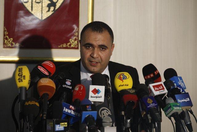 Tunisie la police disperse une manifestation salafiste au for Interieur ministere tunisie