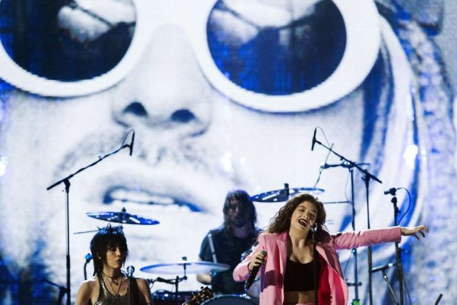 Joan Jett, Lorde et Dave Grohl... (Photo: Reuters)