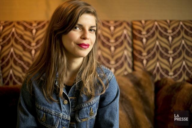 Dans le documentaire Fermières, la réalisatrice Annie St-Pierre... (Photo: David Boily, La Presse)